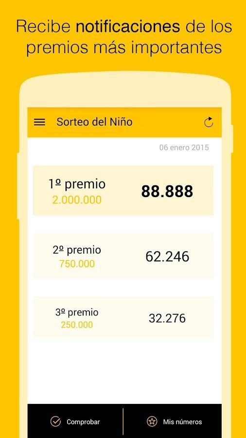 El Mundo Loterías - screenshot
