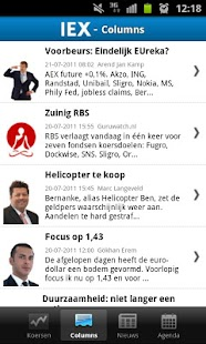IEX.nl Beleggingsinformatie - screenshot thumbnail