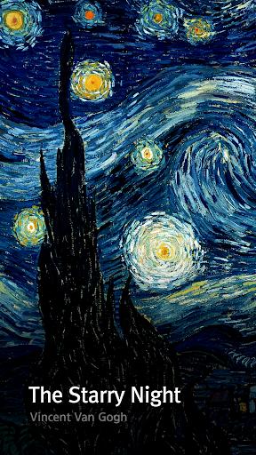Van Gogh Buzz Launcher Theme