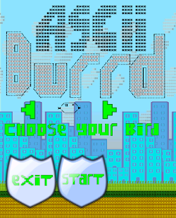 Ascii Birds - screenshot thumbnail