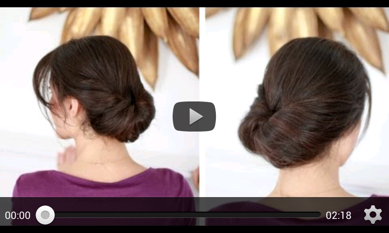 Hairstyles Video Download : Hairstyle Tutorials - Android Apps on Google Play