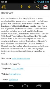 Craft Beer New York - screenshot thumbnail
