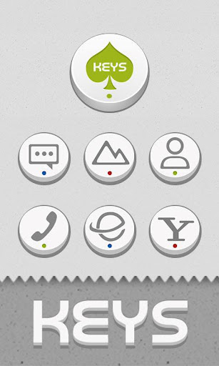 Keys Button GO LAUNCHER THEME