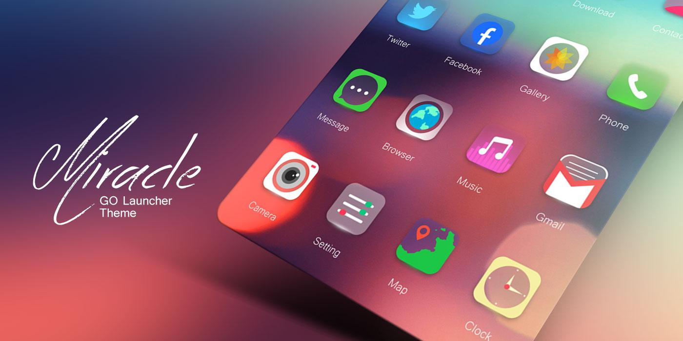 Miracle go launcher theme android apps on google play for Wallpaper home launcher