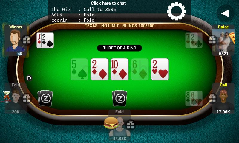 Poker Live by AbZorba - screenshot