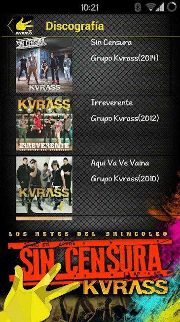 #17. Grupo Kvrass (Android)