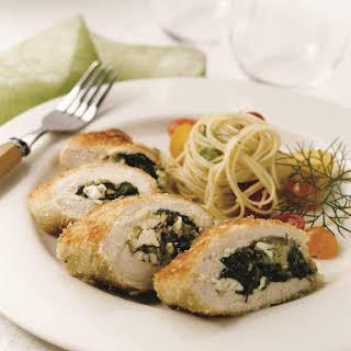 Spinach Stuffed Chicken Breast.