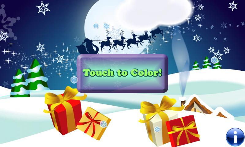 Coloring Book Christmas & Kids - screenshot