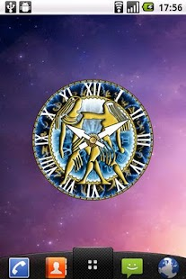 zZodiac Gemini clock! - screenshot thumbnail