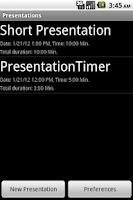 Screenshot of PresentationTimerPro