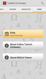 Collins Gem Turkish TR - screenshot thumbnail