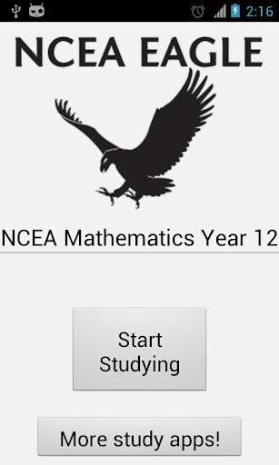 NCEA Mathematics Year 12