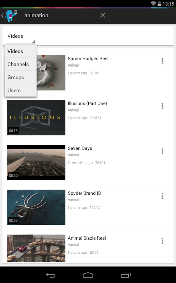 Chromecast for Vimeo Beta - screenshot