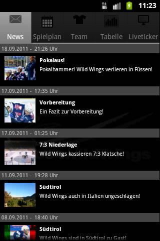WildWings App - screenshot