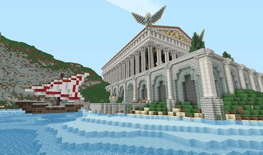 Minecraft Roman Castle