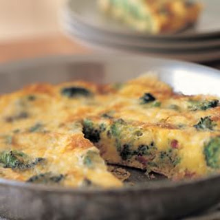 Broccoli and Pancetta Frittata