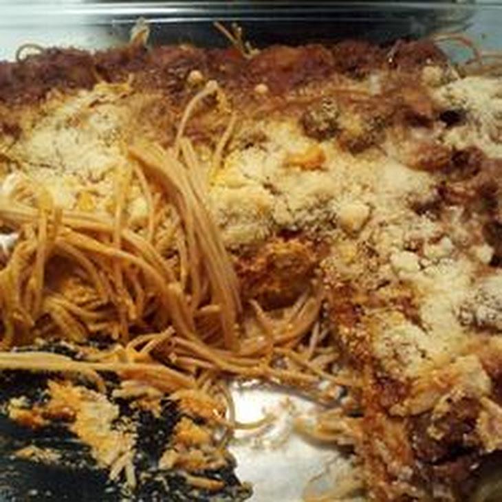 Three Cheese Baked Pasta Recipe