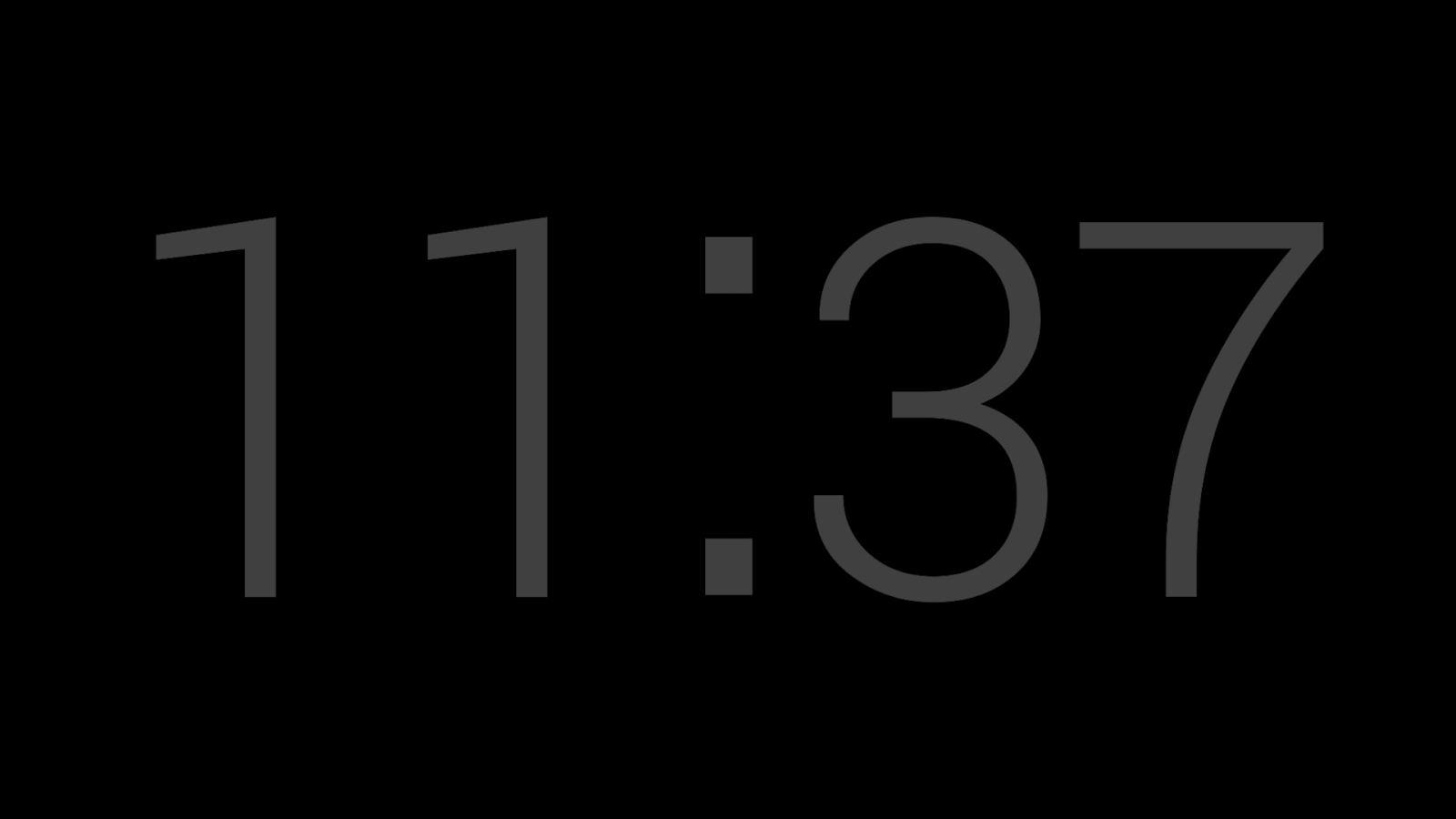 Nightstand Clock (Beta)- screenshot