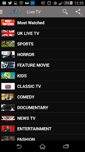 Everywhere TV : Free Live TV