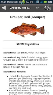 SA Fishing Regulations- screenshot thumbnail