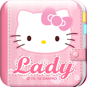 Hello Kitty Lady Diary