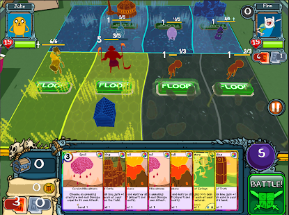 Card Wars - Adventure Time Screenshot