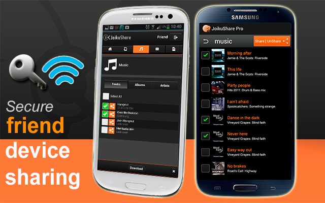 WiFi File Share PRO - screenshot