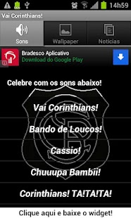 Vai Corinthians! - screenshot thumbnail