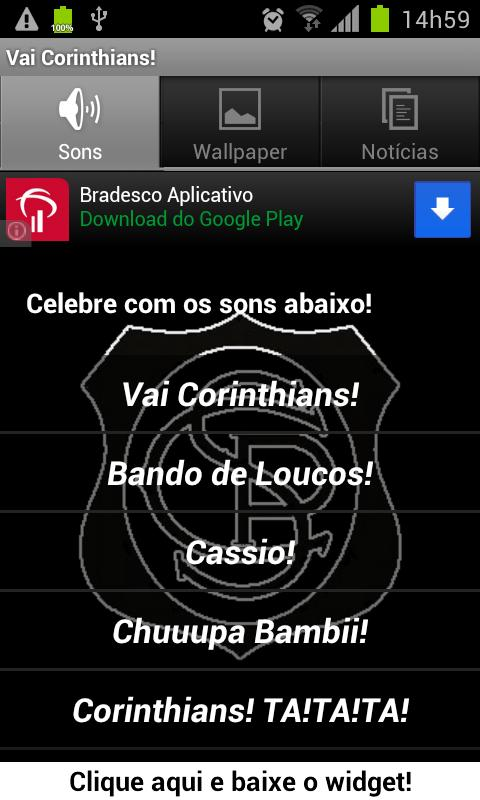 Vai Corinthians! - screenshot