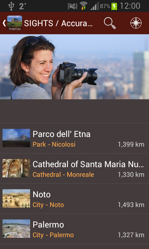 Sicily Travel Guide - Tourias - screenshot