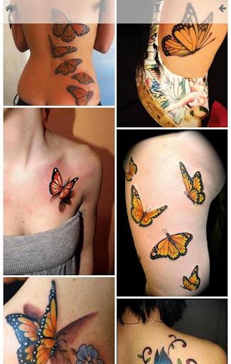蝴蝶紋身經典