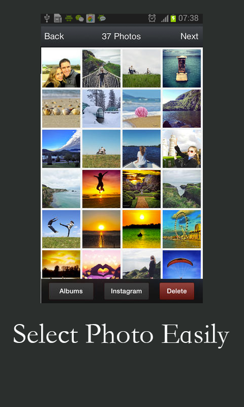 how to create photo slideshow on google