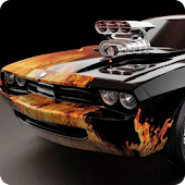 Muscle Cars Live Wallpaper HD