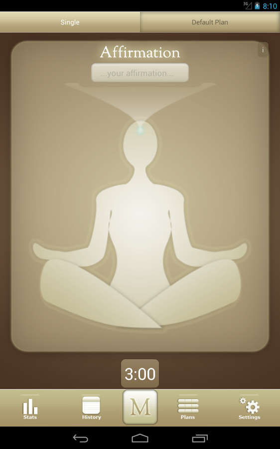 Meditate Free Meditation Timer- screenshot