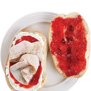 Elena Ruz (Cuban Turkey Tea Sandwich).