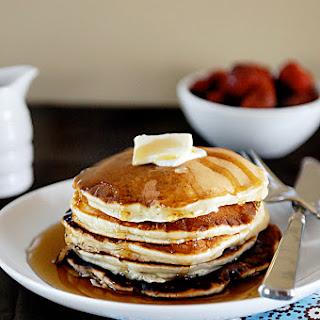 Sour Cream Banana Pancakes}.