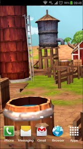 Cartoon Farm 3D Live Wallpaper screenshot 7