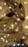 Screenshot of Glitter Live Wallpaper