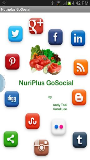 Nutriplus GoSocial Phone
