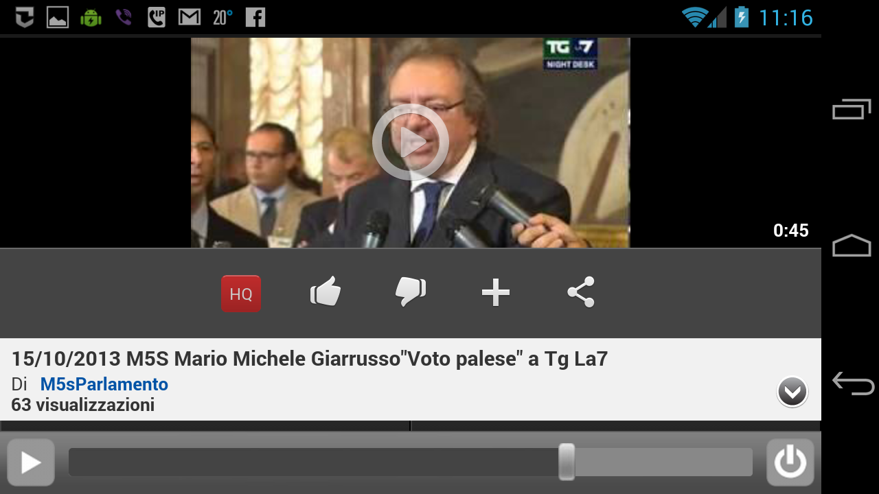 M5S News (+LaCosa Player)- screenshot