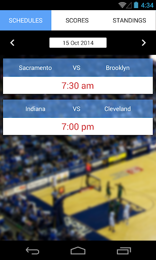 Live Basketball Scores