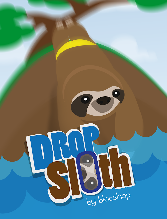Drop Sloth - Indie Diving Game- screenshot