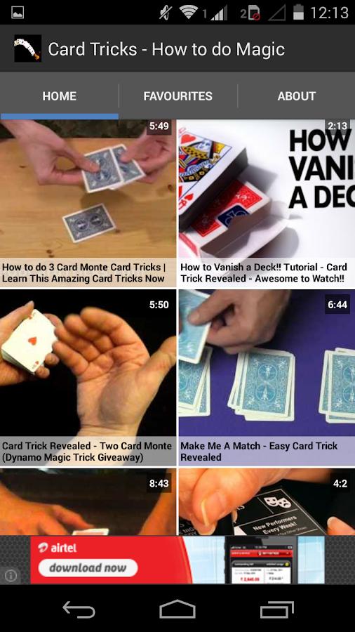 how to do card tricks:
