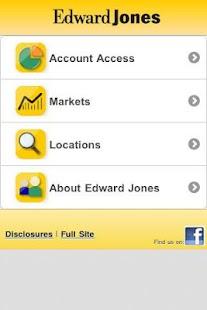 Edward Jones Mobile - screenshot thumbnail