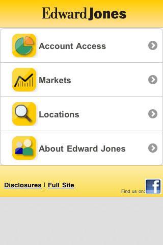 Edward Jones Mobile - screenshot