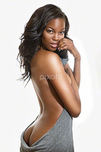 Beautiful black american nude models apologise