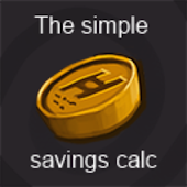 Simple savings calculator free