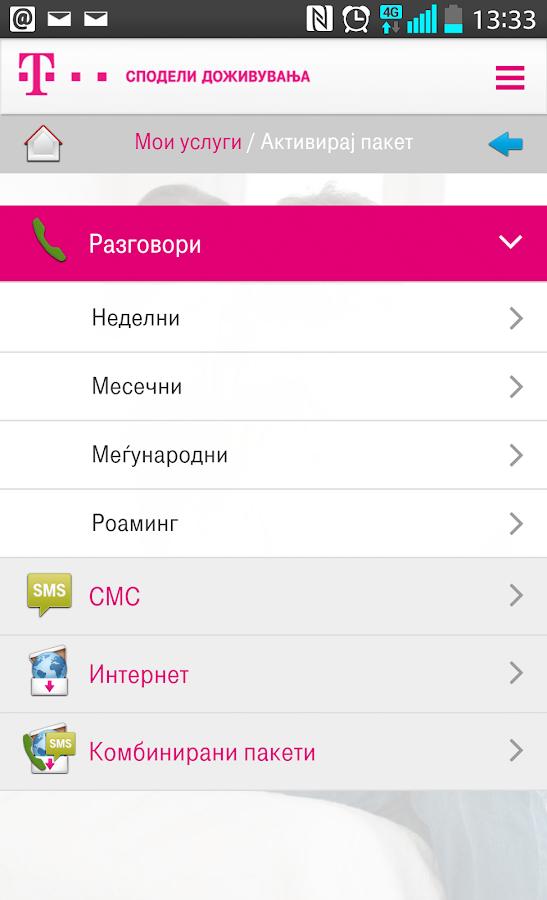 Telekom MK aplikacijata vi nudi golem broj uslugi i povolnosti za