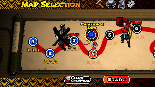 Shinobi Sun:NinjaFighter apk screenshot