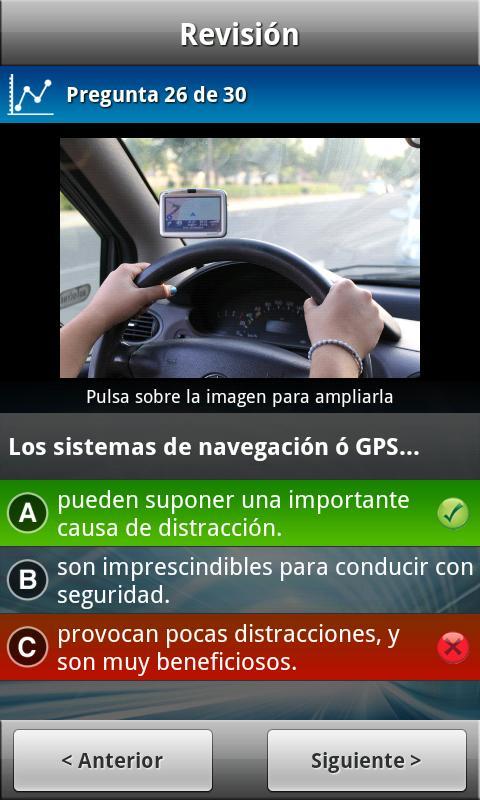 Tests de Conducir DGT (Coche) - screenshot